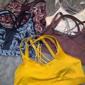 Lot of women's sport bras